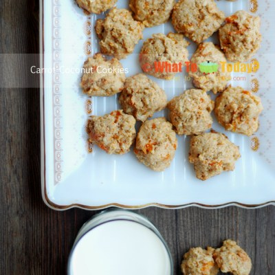 CARROT-COCONUT COOKIES