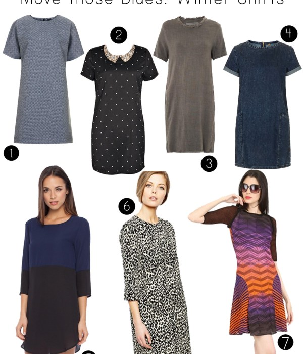Winter Shift dresses