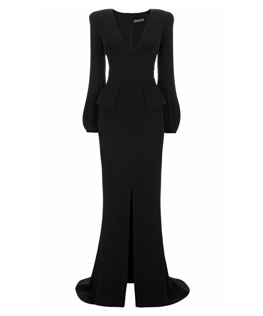 Alexander McQueen Bell Sleeve Floor Length Gown Kate SPOTY Awards 2012