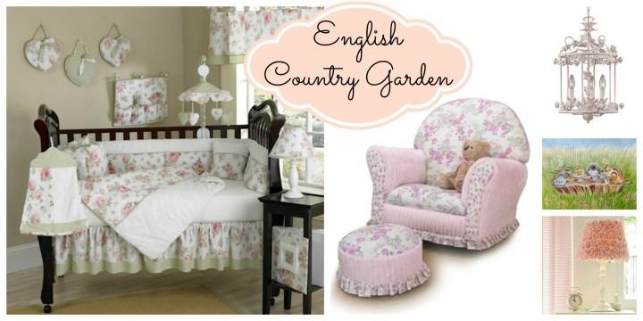 english garden collage