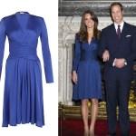 Issa London Wrap Engagement Dress