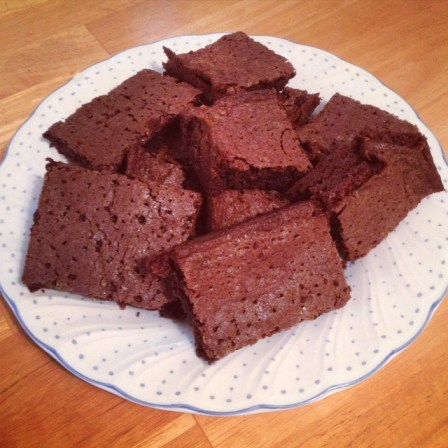 Mary Berry Brownies-final product