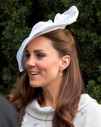 HRH The Duchess of Cambridge at a friends wedding