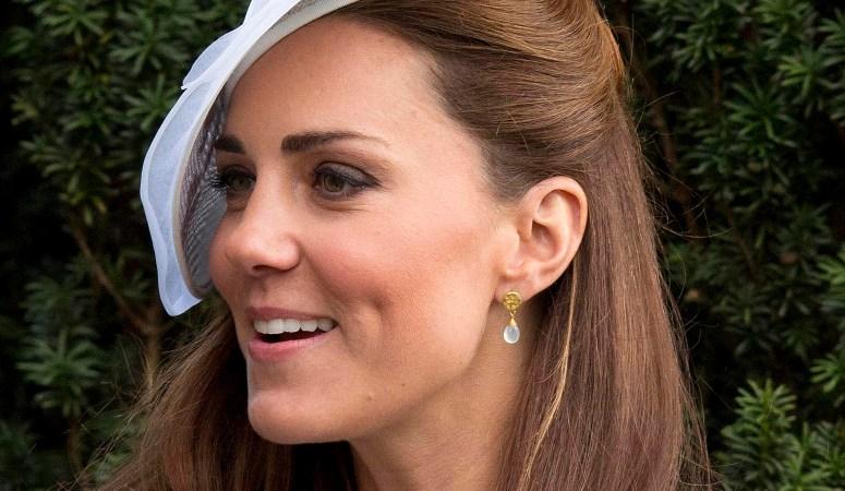 HRH The Duchess of Cambridge at a friends wedding