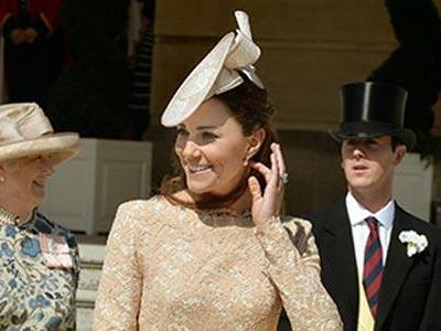 Kate attends her 3rd annual Garden Party at Buckingham Palace
