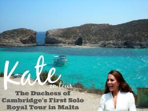 The Duchess of Cambridge to visit Malta
