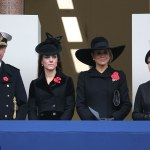 The Duchess of Cambridge Attends Remembrance Sunday Memorial