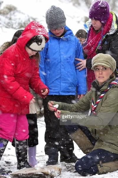 Enjoying the Winter like Duchess Kate