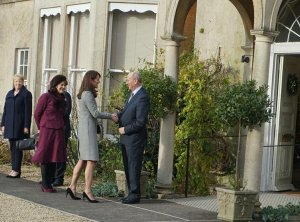 The Duchess of Cambridge visits Centre for Action on Addiction Treatment Studies