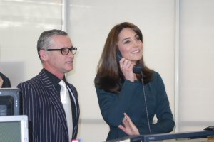 The Duke and Duchess of Cambridge attend ICAP's Charity Day 2015