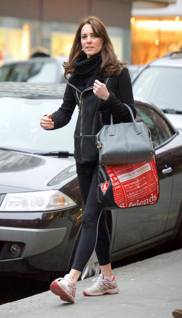 Duchess of Cambridge Shopping King's Road Lululemon