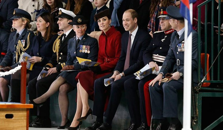 William & Kate Attend RAF Valley Events