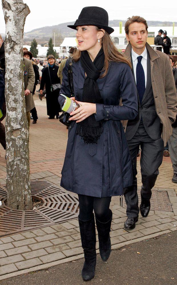 Kate Middleton day 4 Cheltenham festival 2008