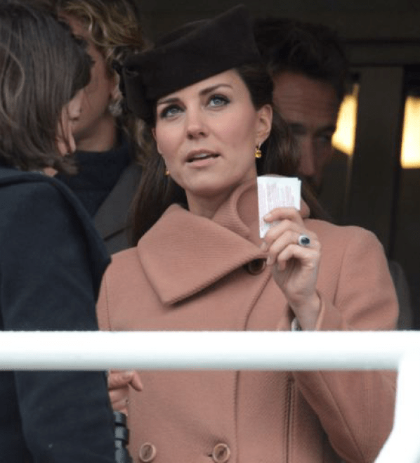 Duchess of Cambridge Betting on Horses