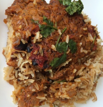 Cooking with Catherine:  Spicy Red Chicken Curry