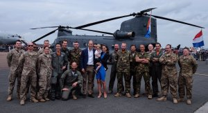The Cambridge Family Attends Royal Air Tattoo