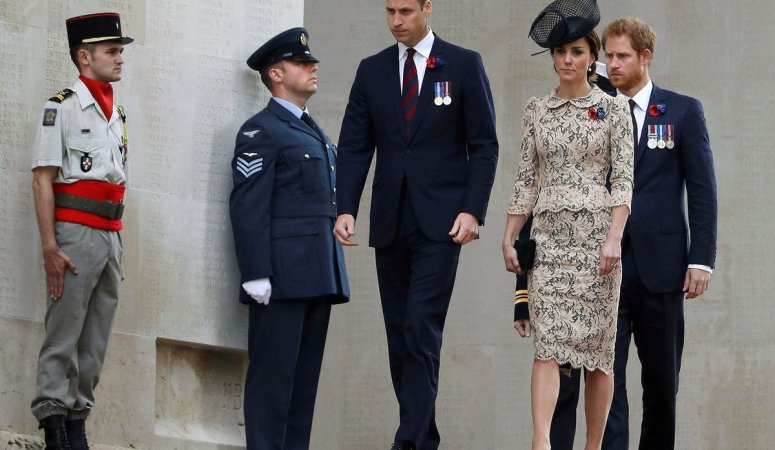 The Duchess of Cambridge attends Somme Commemorations in Thiepval