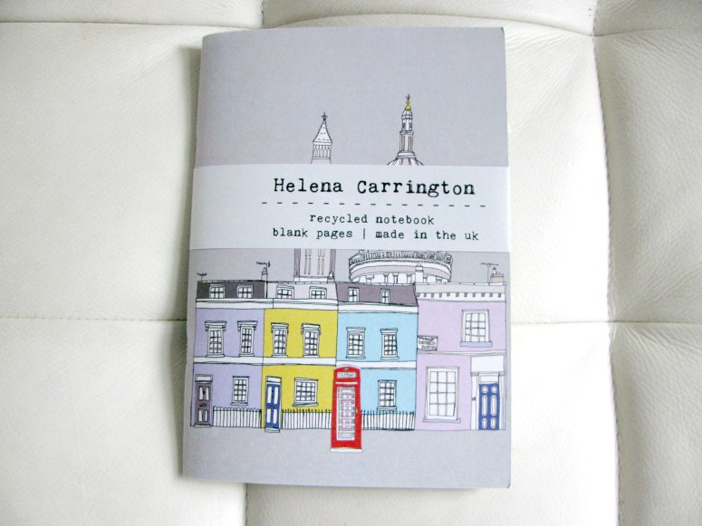 Helena Carrington Notebook