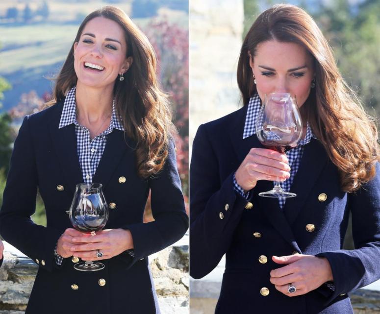 kate middleton wine
