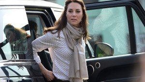 "RepliKate for a Cause: Flora Garment's ""The Kate"" Embroidered Stole"