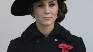 The Duchess of Cambridge Attends Remembrance Sunday
