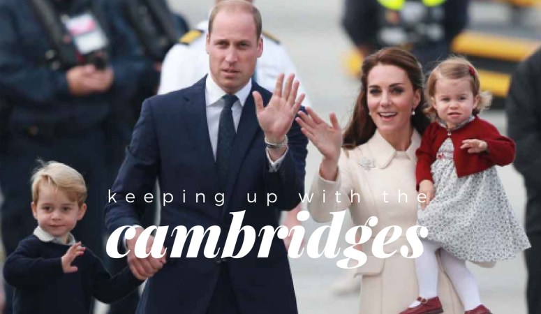 Keeping up with the Cambridges – Week of January 9-15, 2017