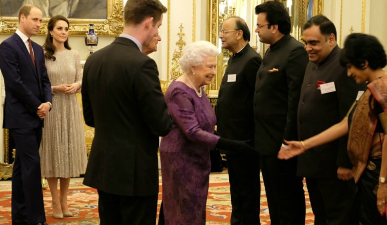Kate Shines at UK and India Year of Culture Reception