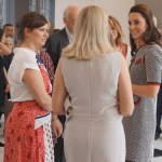 Kate Attends Victoria and Albert Museum Re-Opening in Gucci