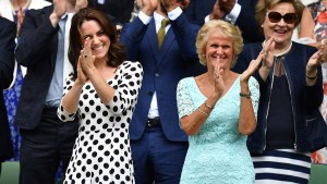 Kate Wows at Wimbledon Day One!