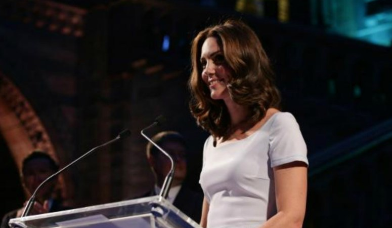 The Duchess of Cambridge opens NHM London's new Hintze Hall