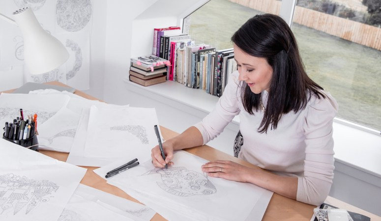 Coloring like Kate: An Interview with Johanna Basford