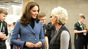 William, Kate, and Harry attend the Coach Core Graduation Ceremony