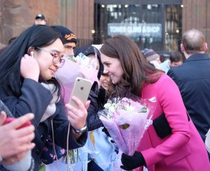 The Duke and Duchess of Cambridge visit Coventry