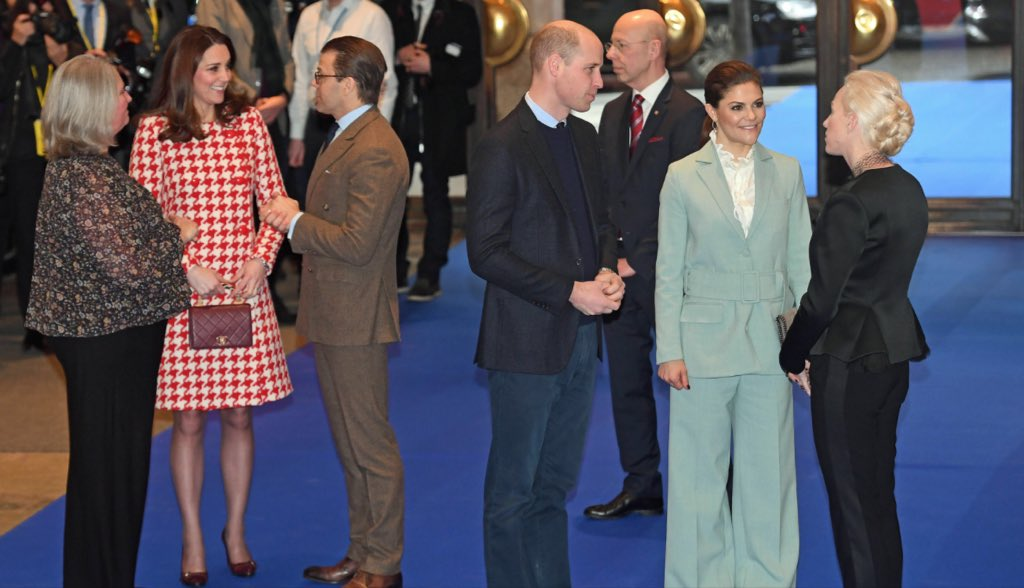 Kate Middleton Alexander McQueen Tweed Dress Catherine Walker Coat