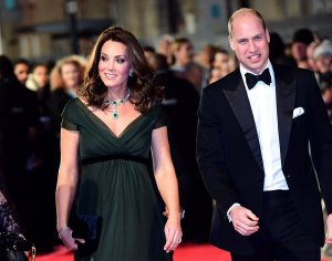 The Duke and Duchess of Cambridge attend the 2018 BAFTAs