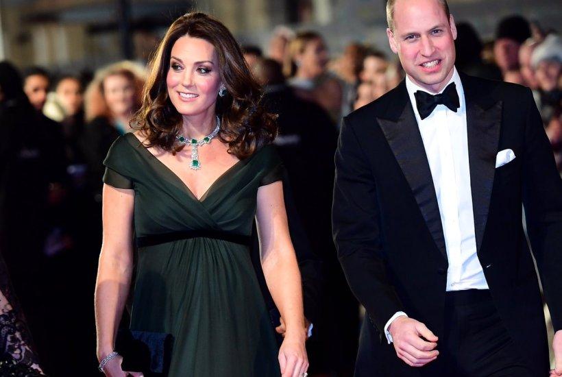 Kate Middleton Pregnant BAFTAs