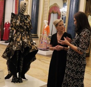 The Duchess of Cambridge and the Countess of Wessex Host Commonwealth Fashion Exchange Reception