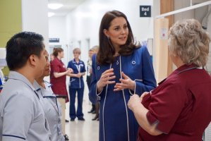 The Duchess of Cambridge Launches Nursing Now Campaign