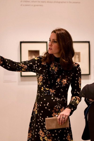 The Duchess of Cambridge unveils Victorian Giants Exhibition at the National Portrait Gallery
