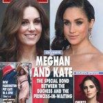 Meghan Markle Kate Middleton Friends Hello Magazine Cover