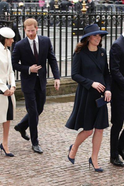 Meghan Markle Kate Middleton Commonwealth Service