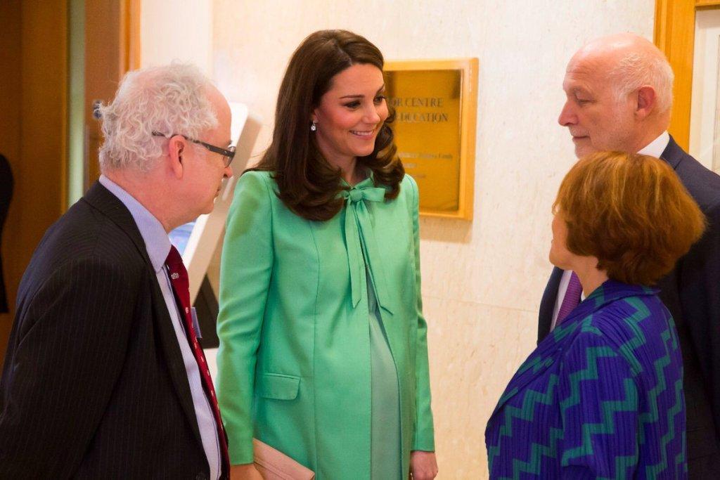 Duchess Cambridge Green Jenny Packham Maternity
