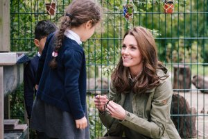 DIY Leaf Crowns inspired by Kate's visit to Sayer's Croft Trust