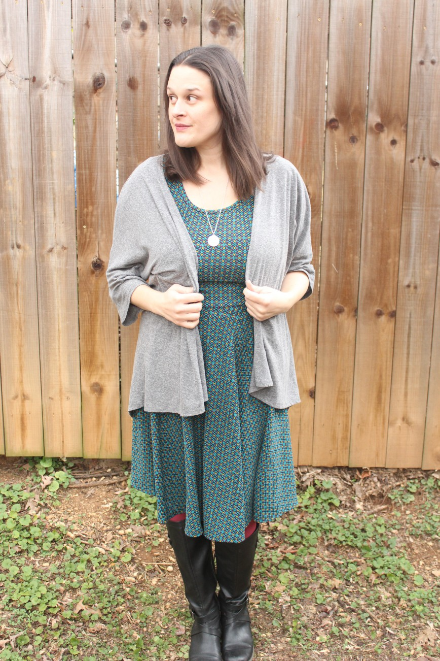 Two LuLaRoe Dresses Two Ways + Giveaway