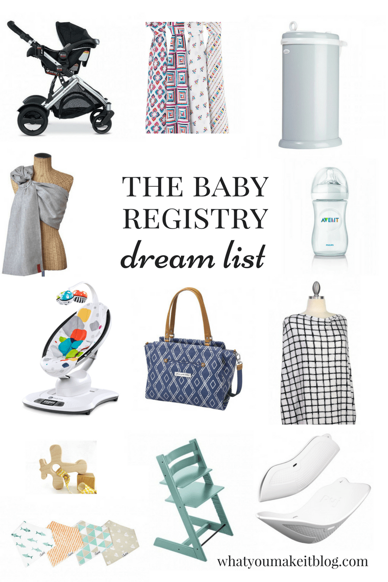 The Baby Registry Dream List