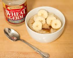 Eating wheat germ