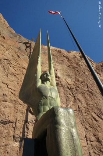 The iconic sculpture by Norwegian-born Oskar J.W. Hansen