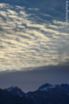 Windy Sierra Clouds