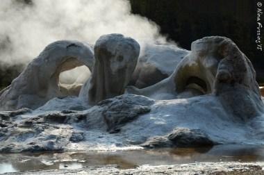 Steamy Castle Geyser