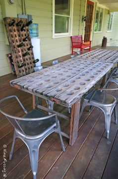 Winery seating